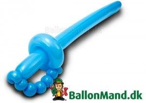 Ballonsværd som vi laver dem.