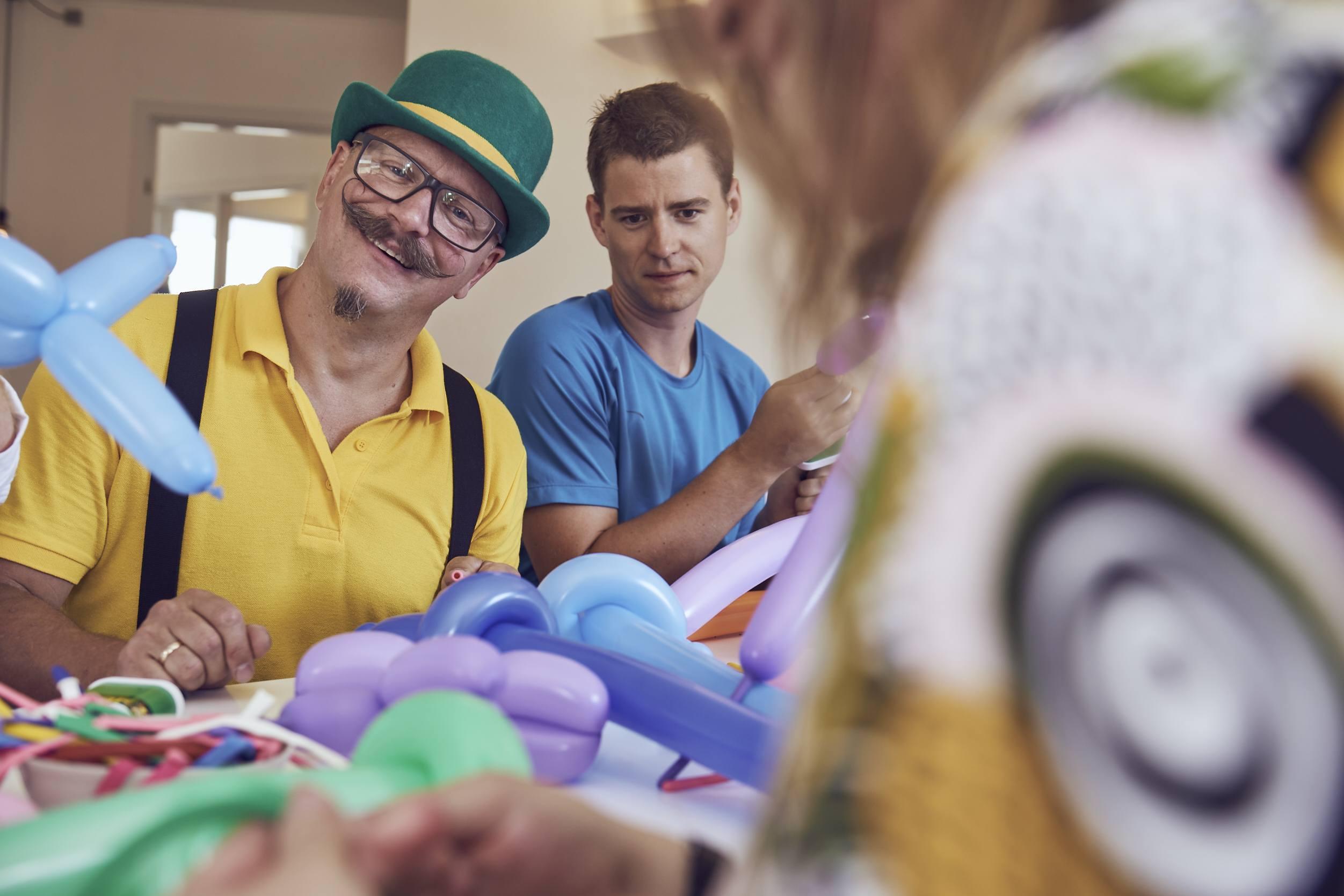 firma event med balloner