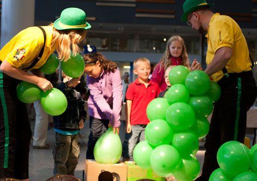 BallonVærksted Hørsholm - palmen samles