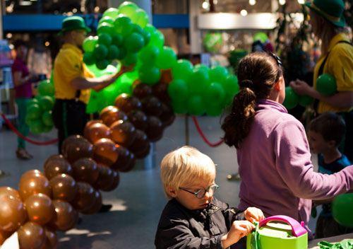 BallonVærksted Hørsholm - ballonpalme næsten færdig